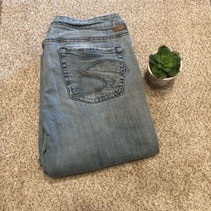 Women's Lola Silver Jeans